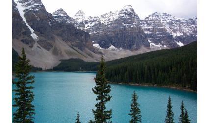 Езерото Морейн, Банф, Скалисти планини, Канада