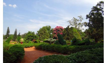 Ботаническата градина Лал Багх в Бенгалуру