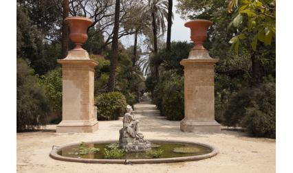 Ботаническата градина - Палермо, Сицилия, Италия