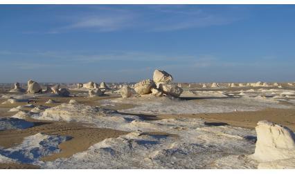 Бялата пустиня, Египет