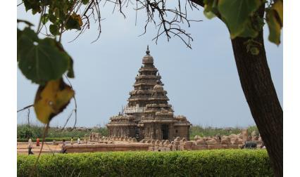 Храм в град Ченай, Индия