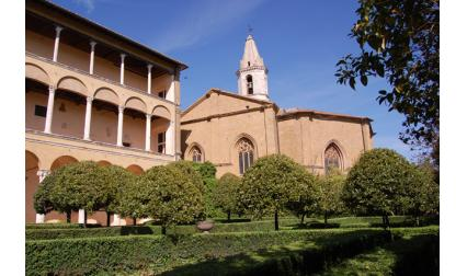 Дворецът Пиколомини - Пиенца, Италия