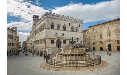 Дворецът на магистратите - Перуджа, Италия