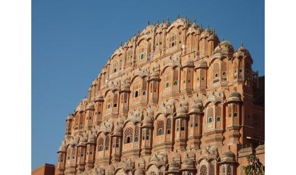 Дворецът на ветровете, Джайпур, Индия