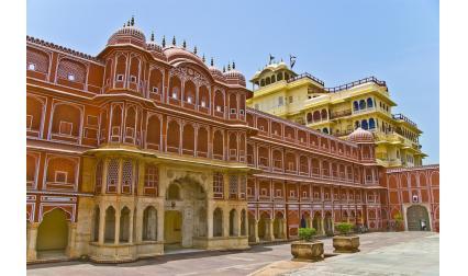 Градският дворец в Джайпур, Индия