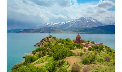 Езерото Ван, Турция