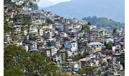 Гангток, Индия