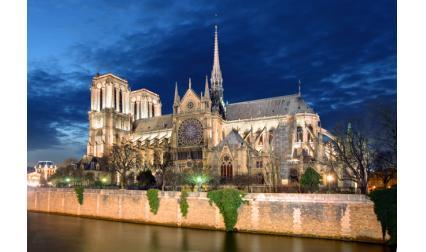Катедралата Нотр Дам, Париж, Франция