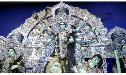 Фестивалът Дурга Пуджа, Колката, Индия