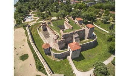 Крепостта Баба Вида, Видин от въздуха