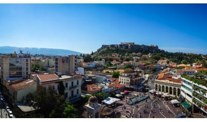 Монастираки - Атина, Гърция