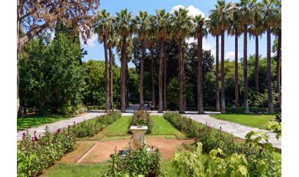 Националната градина в Атина, Гърция
