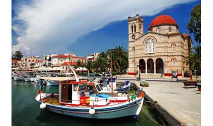 Остров Егина, Гърция