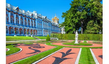 Екатерински дворец, Царское село, Русия