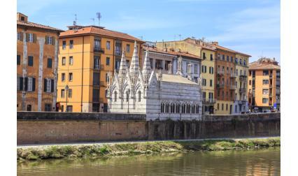 Църква Богородица с бодила - Пиза, Италия