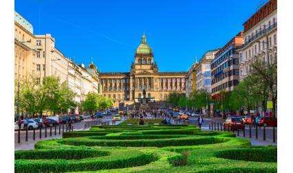 Вацлавският площад - Прага, Чехия