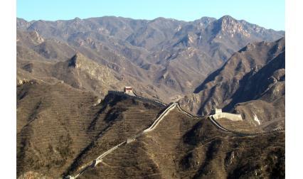 Изглед от Великата китайска стена