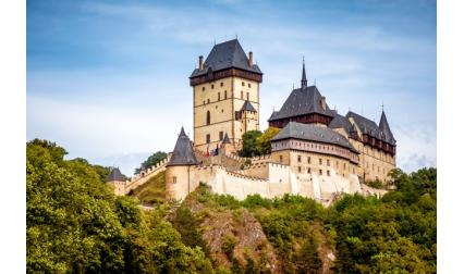 Замъкът Карлщайн, Чехия