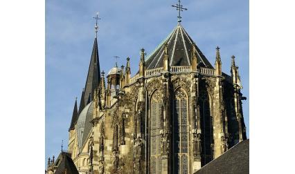 Катедралата в град Аахен, Германия