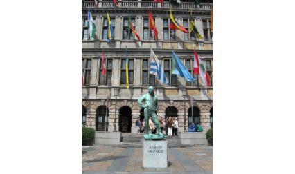 Антверпен - център