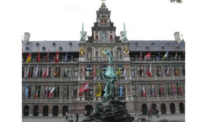 Антверпен - сграда