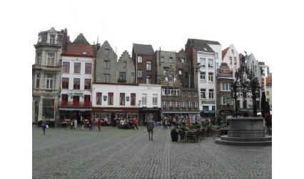 Центърът на Антверпен
