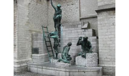 Антверпен - статуи