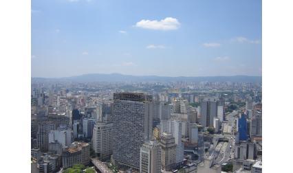Изглед към Сао Пауло