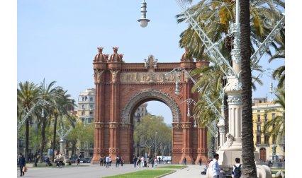 Триумфалната арка в Барселона