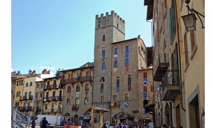 Изглед от Арецо, Италия