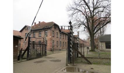 Изглед от Аушвиц (Освиенцим), Полша