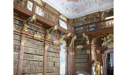 Библиотеката в Мелк