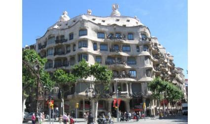 Каса Мила - Барселона - проектирана  от Гауди