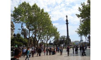 Барселона - улица Ла Рамбла