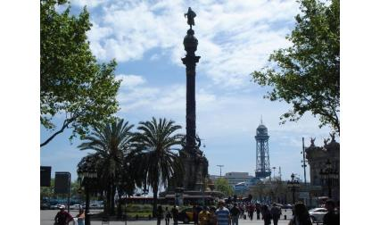 Барселона - паметник на Колумб