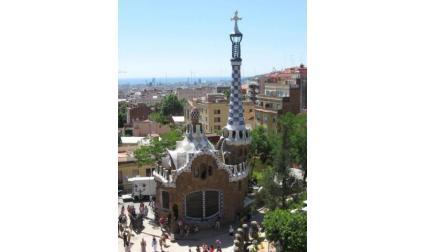 Барселона - Парк Гюел къщи от Гауди