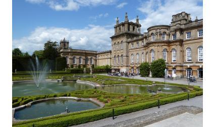 Дворецът Бленхайм, Великобритания