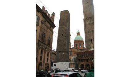 Болоня - наклонените кули