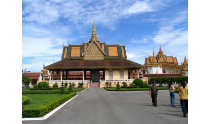 Кралският дворец в Пном Пен