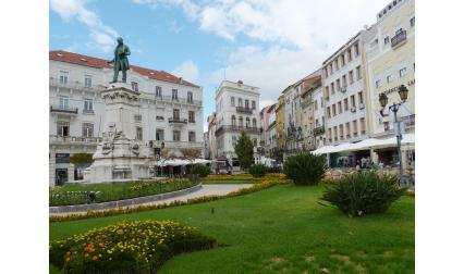 Изглед от Коимбра, Португалия