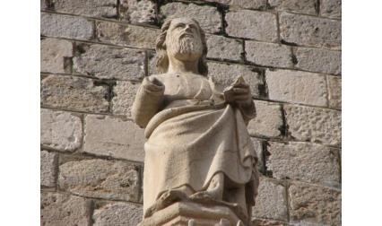 Дубровник - статуя