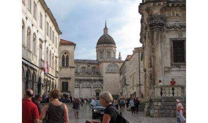 Дубровник - поглед към катедралата