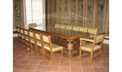 Заседателната зала в двореца