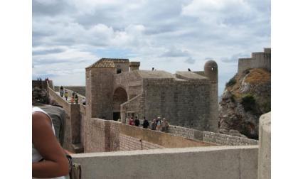 Крепостната стена в Дубровник