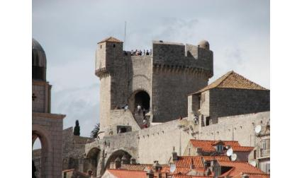 Изглед към кулата Минчета