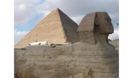 Египет - пирамида и сфинкс