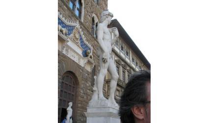 Флоренция - Статуята на Давид на площад Сеньория