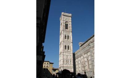 Флоренция - камбанарията да катедралата