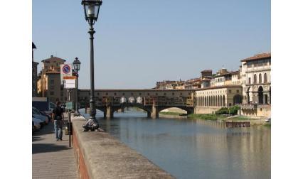 Понте Векио и река Арно - Флоренция