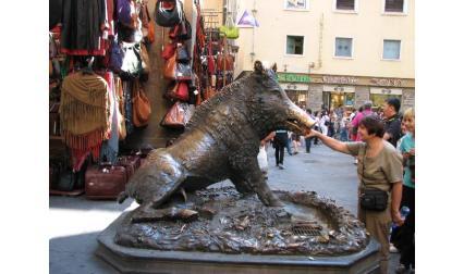 Флоренция - прасенце на късмета